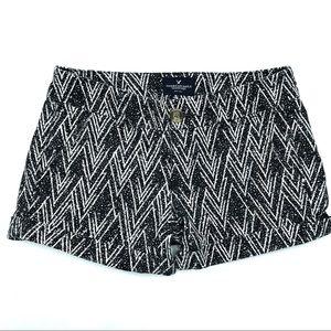 American Eagle Black Shorts, Size 00, EUC